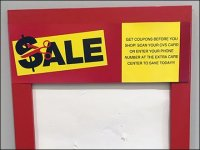 In-Store Coupon Bulletin-Board Weekly Updates