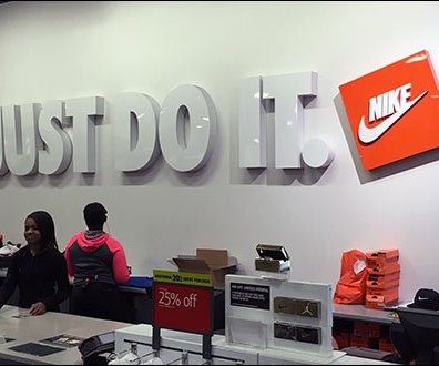 Nike Just Do It Store Branding 2