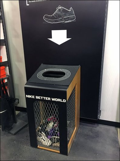 Nike Shoe Recycling 2