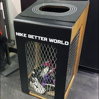 Retail Recycle: Nike Old Soles Never Die