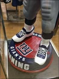 NY Giants Museum Case 3