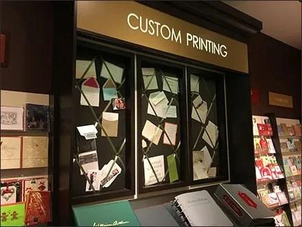 Papyrus In-Store Custom Printing Display Main