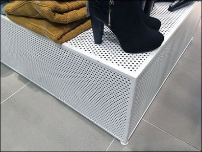 Perforated Platform Merchandising 3