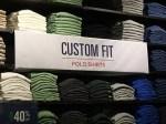 Polo Custom Fit Shirts CloseUp