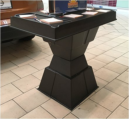 Pylon Geometric Table Base Main