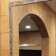 V.I.P. Restroom Mirror Finishing Details