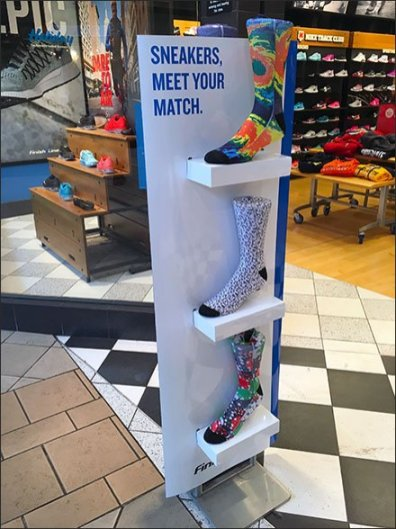 Sneakers Meet Your Match, Socks Unspoken
