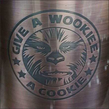 Give a Star Wars Wookie Cookie
