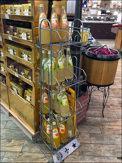 Bracca Reverse Gravity Feed Floor Rack 1