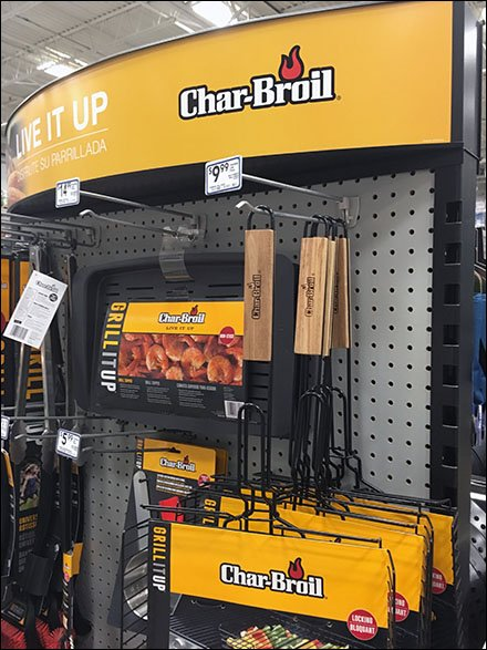 Char-Broil Straight-Entry Hook Display 3