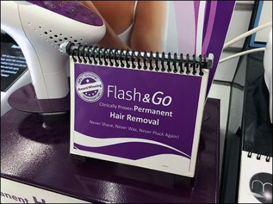Hair Removal Bolt Spiral Bind 1