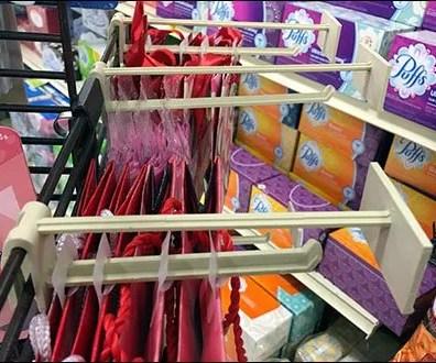 Hallmark Card Plastic Scan Hooks for Grid