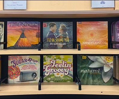 Music-Scapes Plastic CD - DVD Dividers 2