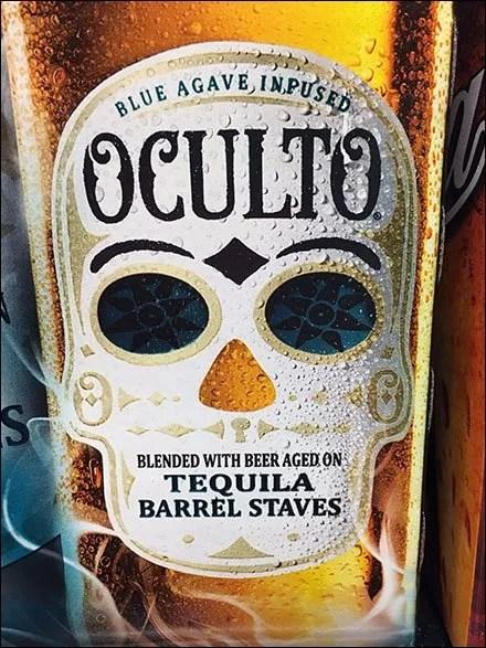 Oculto Tequila Beer Shelf-Edge Branding