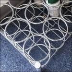 Oxygen Bottle Floor Rack CloseUp