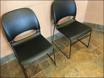 Security-Tethered Seating In-Store