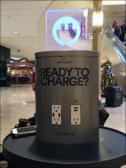 Simon Properties In-Mall iDevice Charger