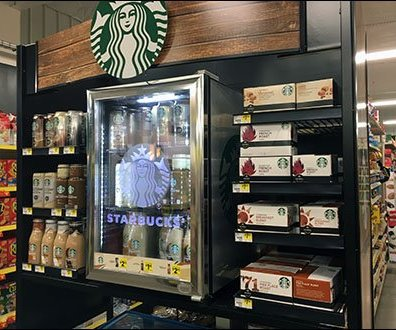 Starbucks Specialty Coffee Cups By You Fixtures Close Up