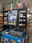 Starbucks Branded Overhead Cooler Aux