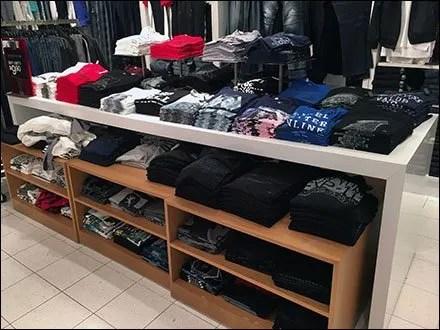T-Shirt Massed Display Main