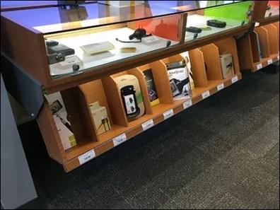 Under Cabinet Display Bins 2