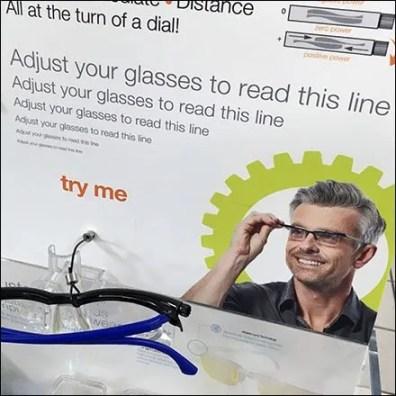 Alden® Adjustable Focus Eyewear Try Me 3