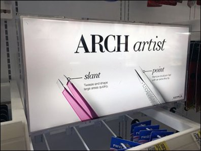 Arch Artist Cosmetics Sign Perspective 1