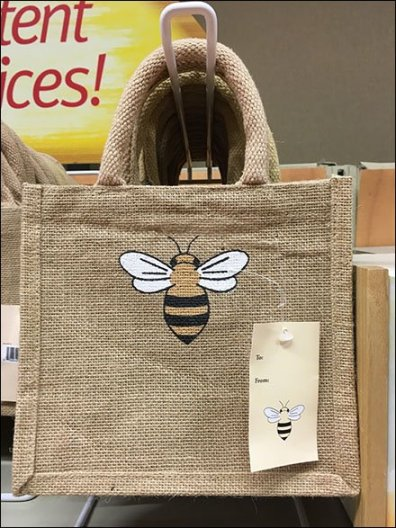 Burts Bees Lip Balm Jute Bag Premium On Loop Hook