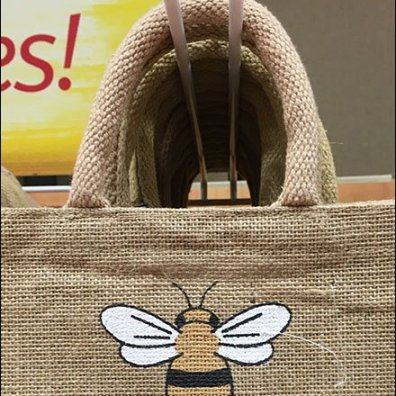 Burts Bees Lip Balm Jute Bag 2
