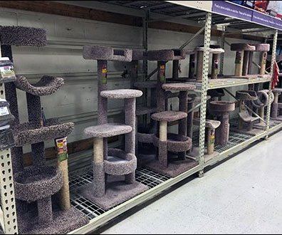 Cat Condo Pallet Rack Merchnadising 1