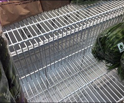 Coffin Case Tier Inserts in Produce 3