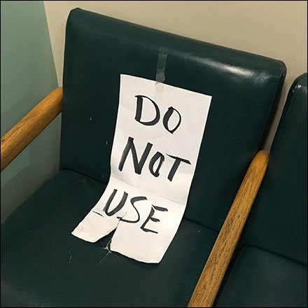 Do Not Use Seating Sign Feature