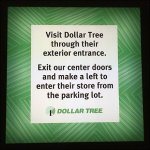 Dollar Tree Round-About Mall Navigation AUX