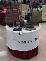 Dooney & Bourke Branded Table Cloth 2
