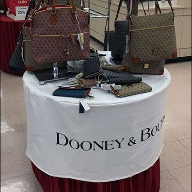 Dooney & Bourke Branded Table Cloth 2