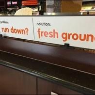 Dunkin Donuts Run Down Fresh Ground