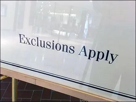 Elegant Exclusions Apply Footnote