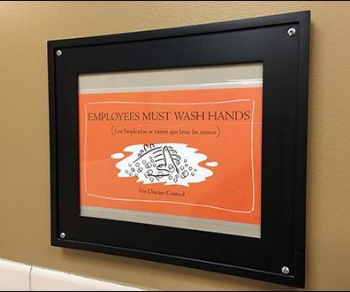 Employees Must Wash For Disease Control Main