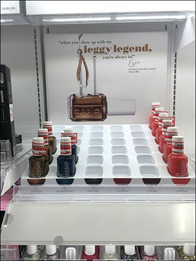 Essi Leggy Legend Cosmetics Mated Tray 1
