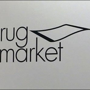 Flying Rug Market Branding CloseUp