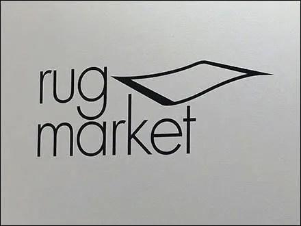 Flying Rug Market Branding CloseUp