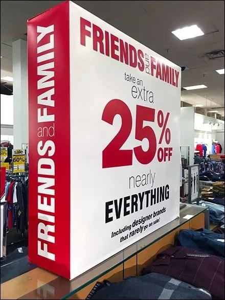Friends and Family Die-Cut Dimensional CloseUp