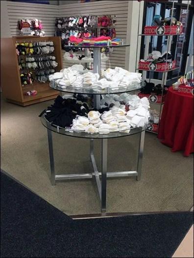 Goldtoe Sock Display In-the-Round