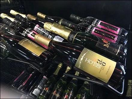 Horizontal Open Wire Wine Bottle Rack 1