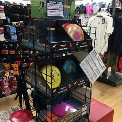 Innova Disc Golf Frisbee Display 1