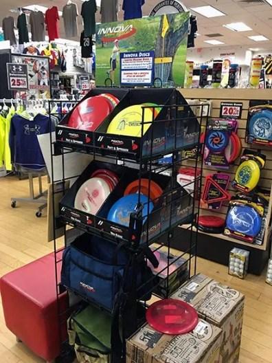 Innova Disc Golf Frisbee Display 4
