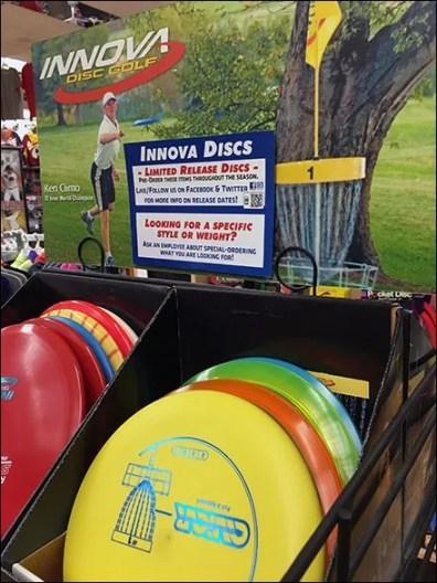 Innova Disc Golf Frisbee Display 6