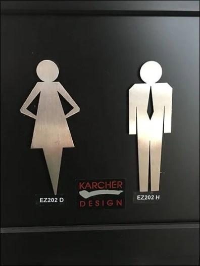 Karcher Design Restroom Icons 2