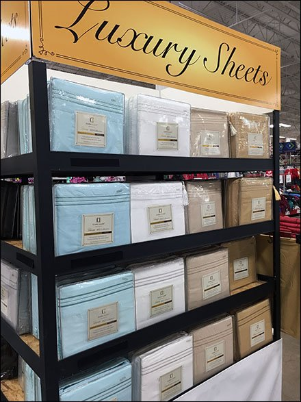 Luxury Sheet Pallet Display Point-of-Purchase