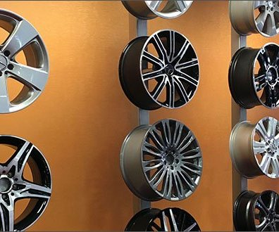 Mercedes Benz Wheel Display To Die For